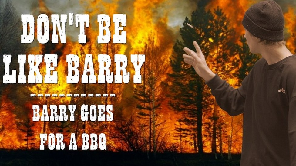 Don't Be Like Barry film