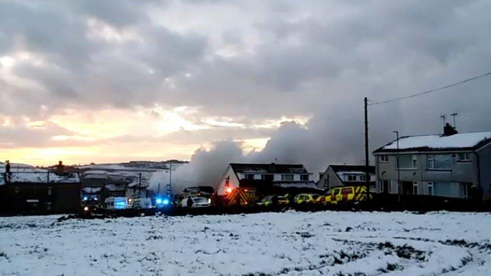 Illingworth explosion: Three people taken to hospital thumbnail