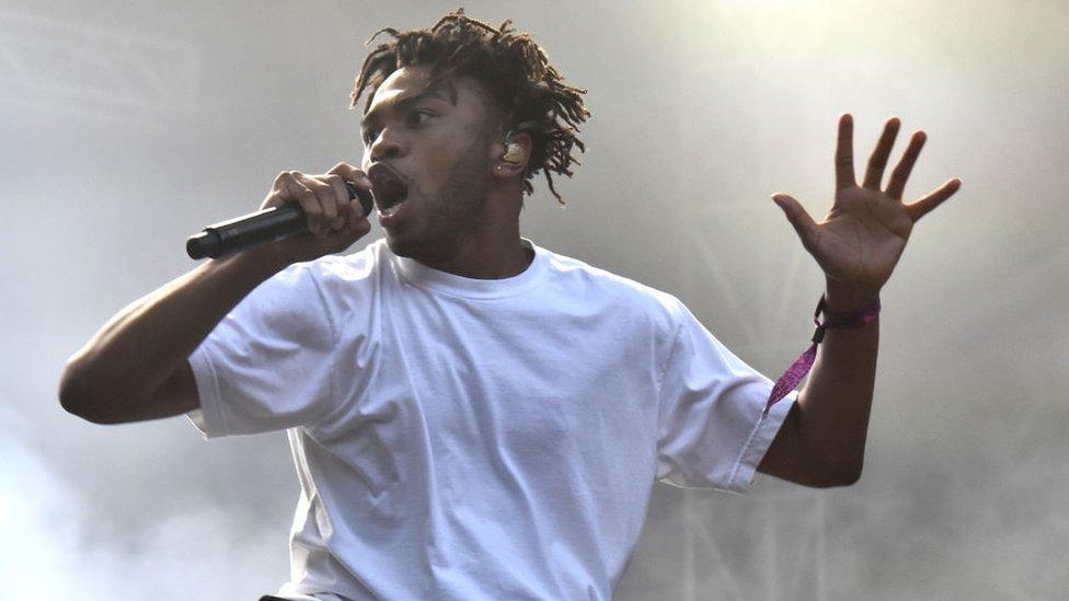 BBC News - Brockhampton on changing hip hop's 'homophobic space'