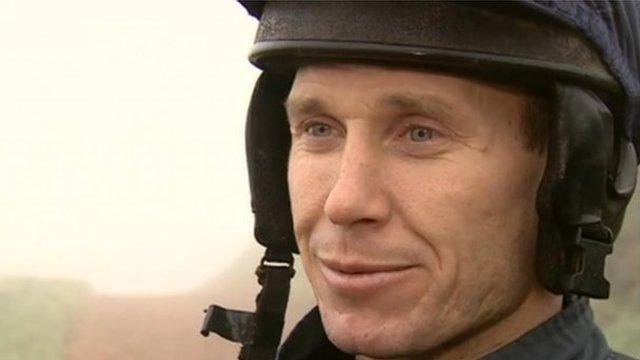 Leading National Hunt jockey Richard Johnson