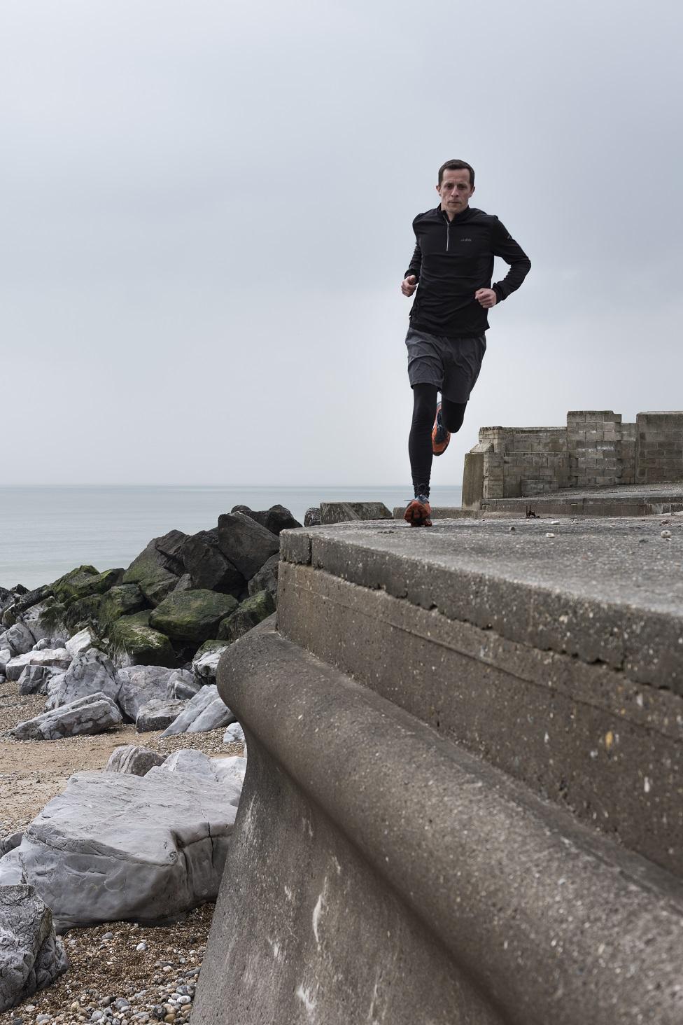 Paul Shepherd running