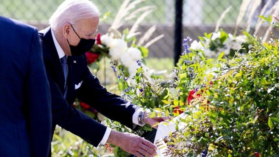 Joe Biden en el Pentágono