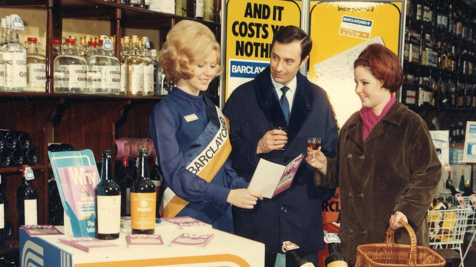 Barclaycard being sold in 1966
