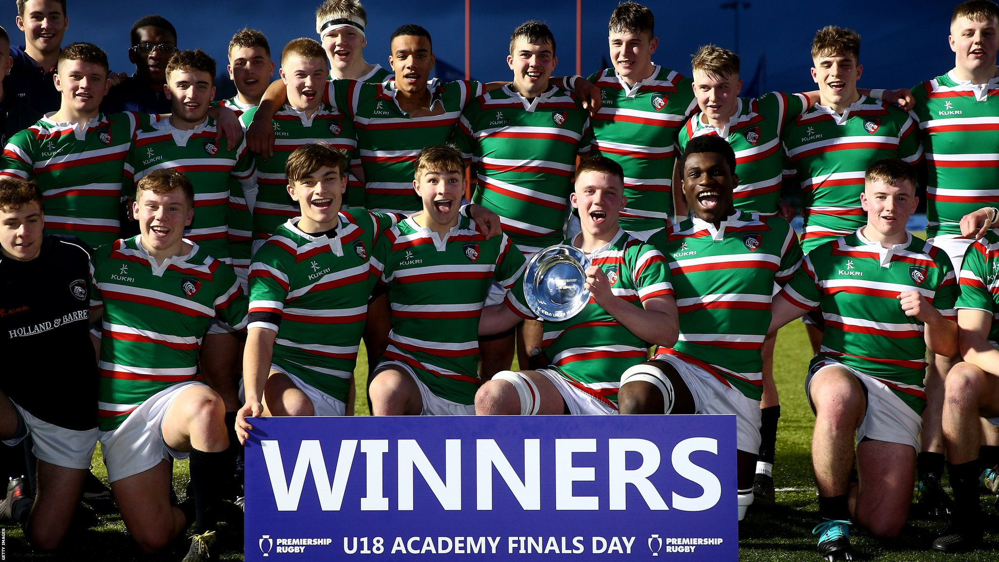 Leicester Tigers: Secret to academy success is dodging 'Bearded Bill'