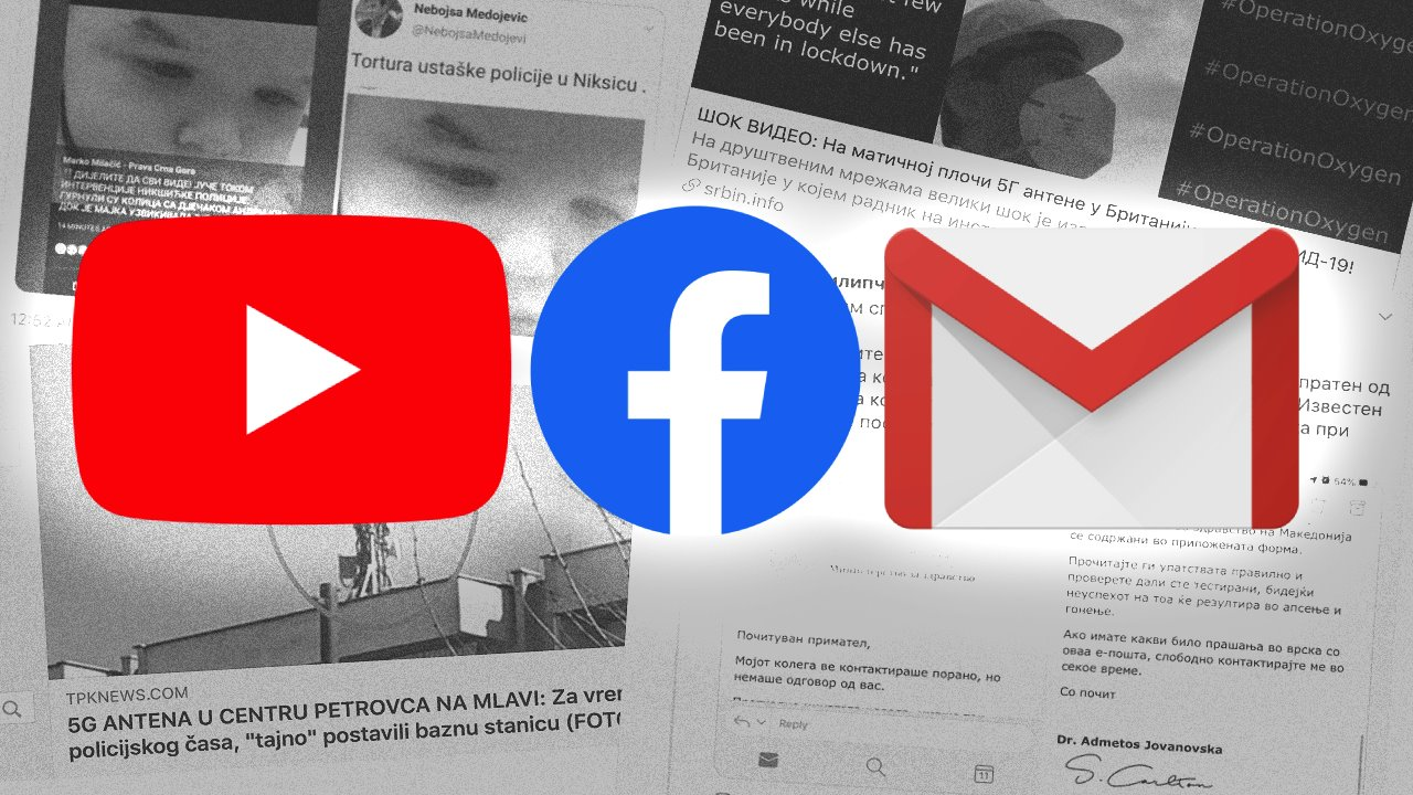 društvene mreže i skrinšotovi lažnih vesti i manipulacija činjenica