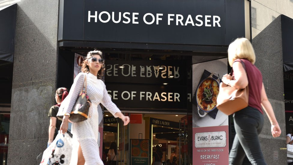 House of Fraser store closure plan backed
