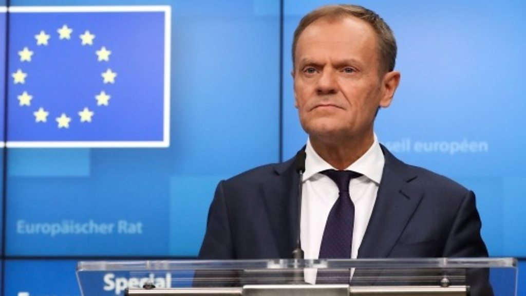 Tusk on Brexit extension: 'Please do not waste this time'