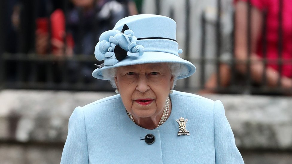 The Queen at Balmoral (file photo, summer 2019)