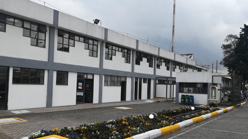 Cárcel de mujeres El Buen Pastor, en Bogotá