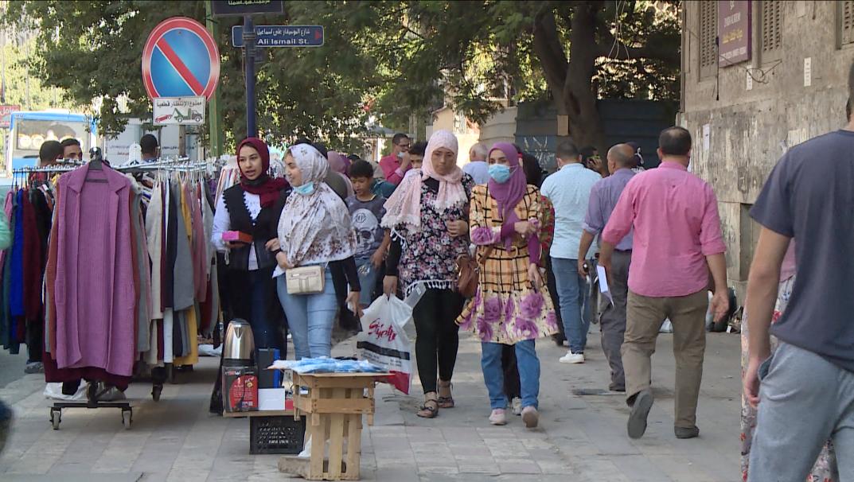 احد شوارع القاهرة