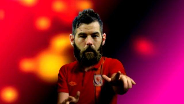 Joe Ledley is a cult hero among Welsh fans