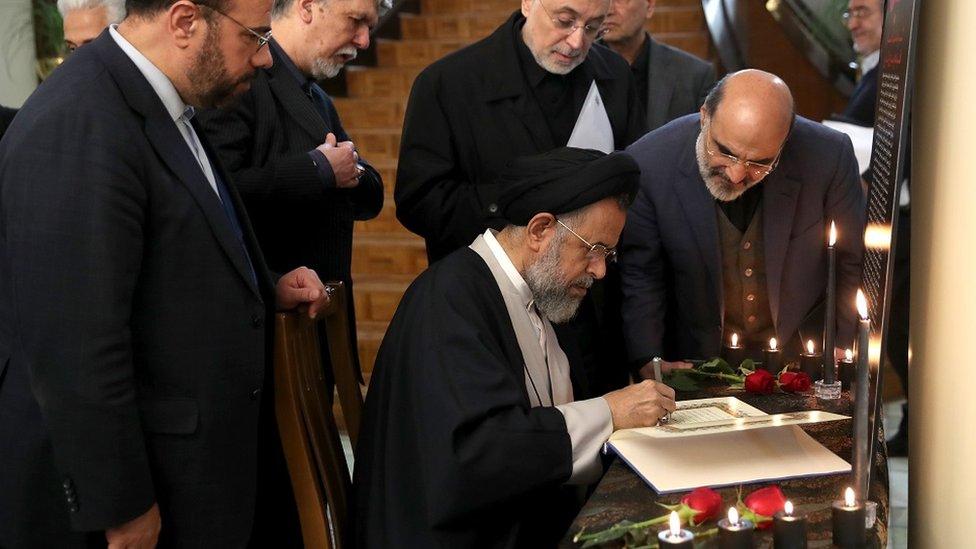 وزير الاستخبارات الإيراني، محمود علافي