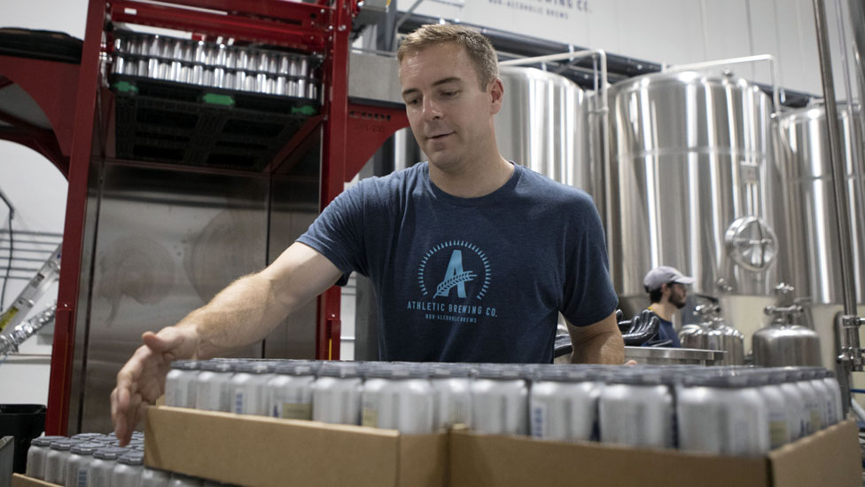Bill Shufelt of Athletic Brewing