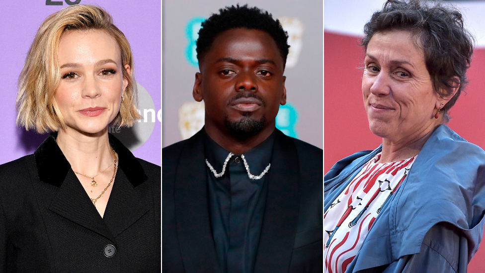 Carey Mulligan, Daniel Kaluuya ve Frances McDormand
