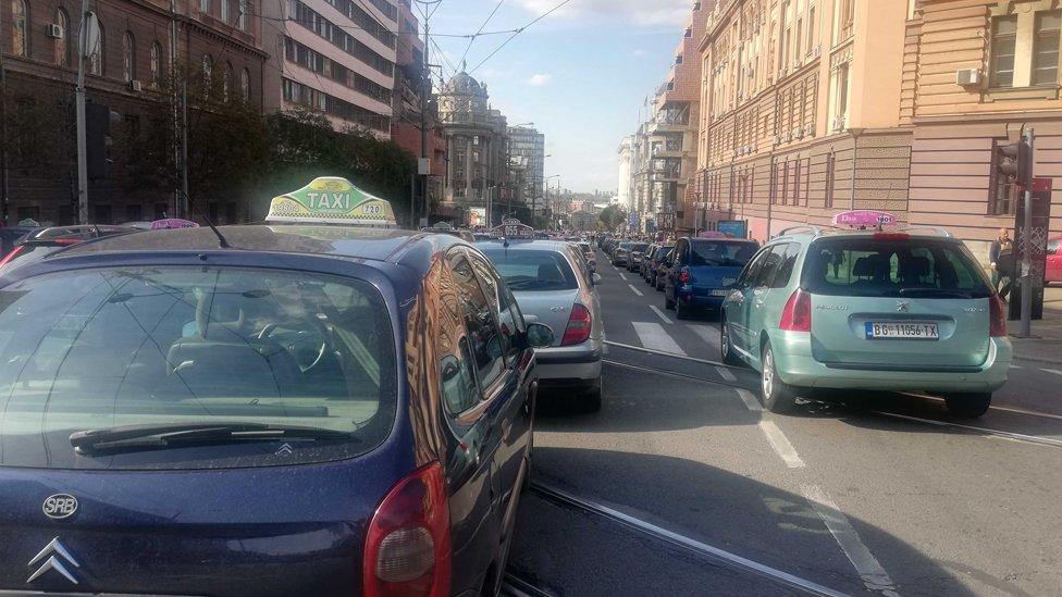 taksi protest