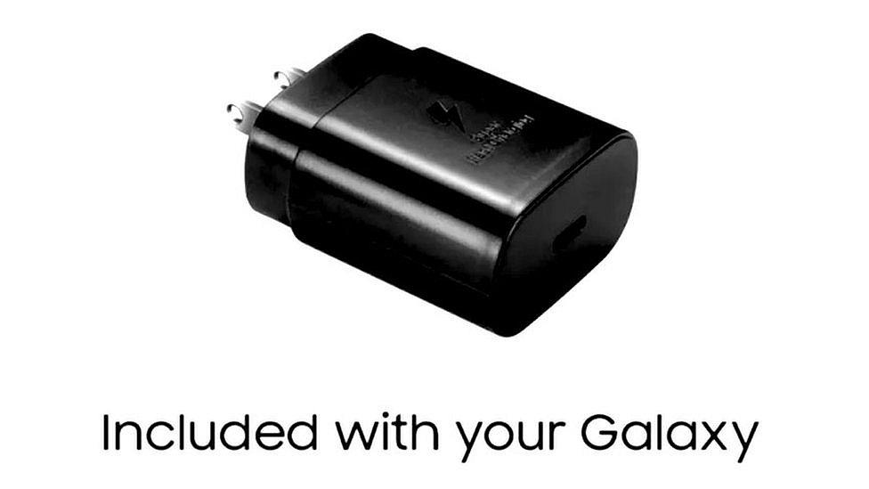 Реклама зарядного устройства Samsung