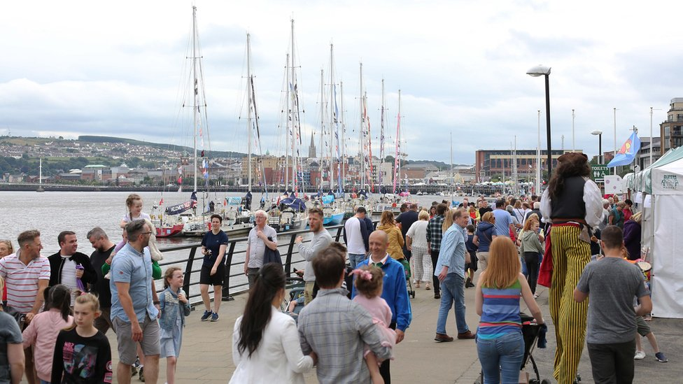 Thousands visit Maritime Festival
