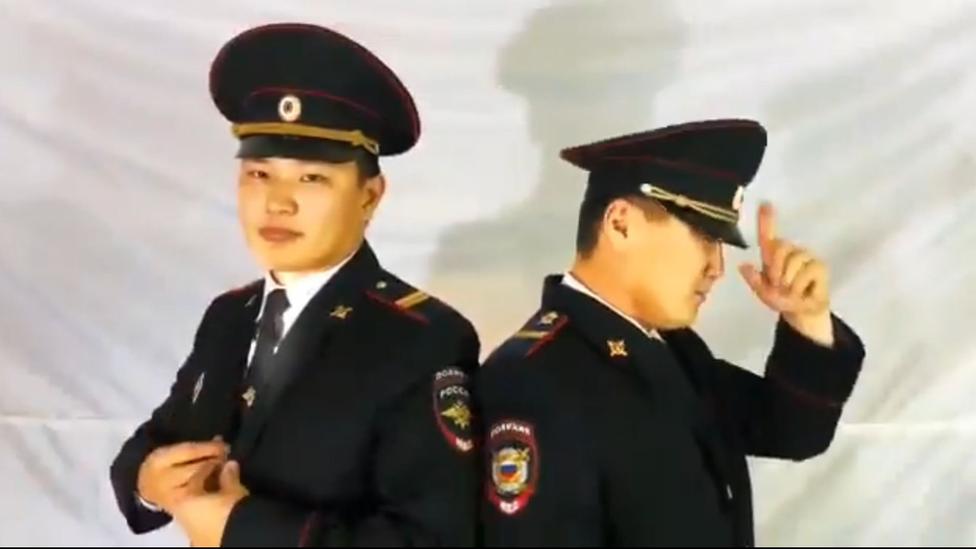 Jakutski policijski plesni spektakl 2018