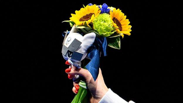 flores olímpicas