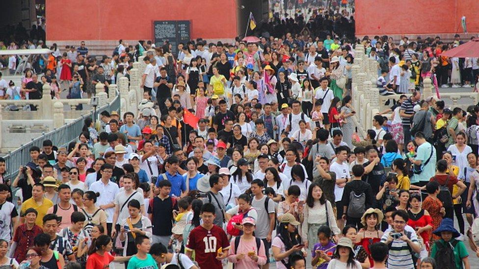 2019年,約有1900萬遊客參觀了紫禁城。