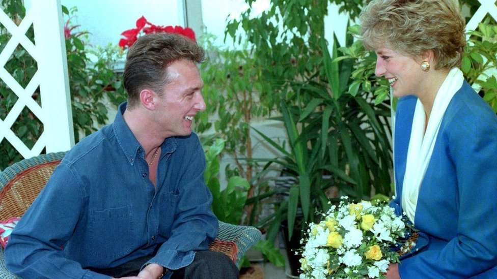 Diana y paciente VIH positivo