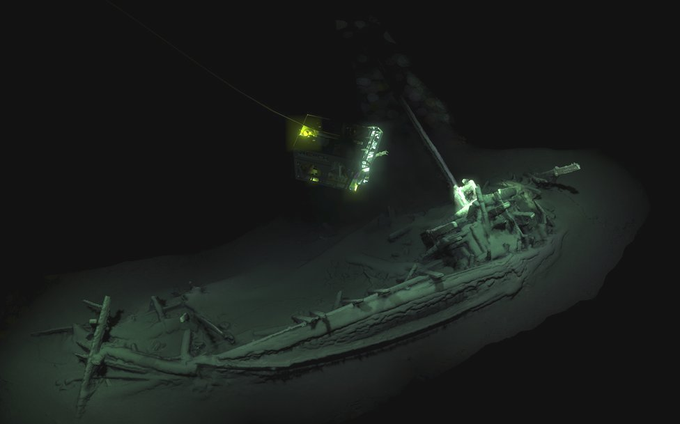 Olupina iz Crnog mora