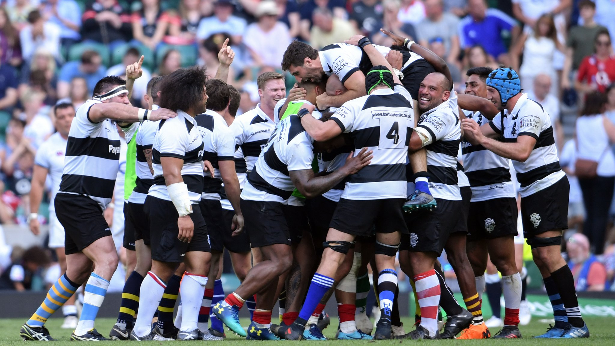 Barbarians v Argentina: BBC to broadcast first Baa-Baas match since 2009