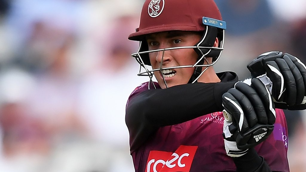 Somerset's Banton compared to Buttler after One-Day Cup win
