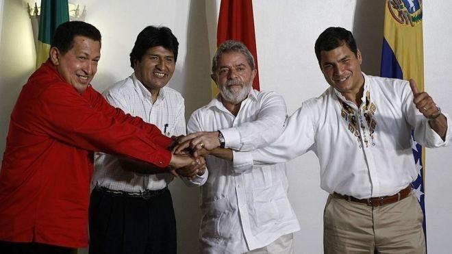 اشتراكيو امريكا الوسطى واللاتينية