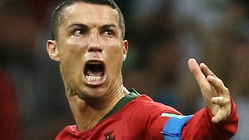 Ronaldo's superhuman match in pictures