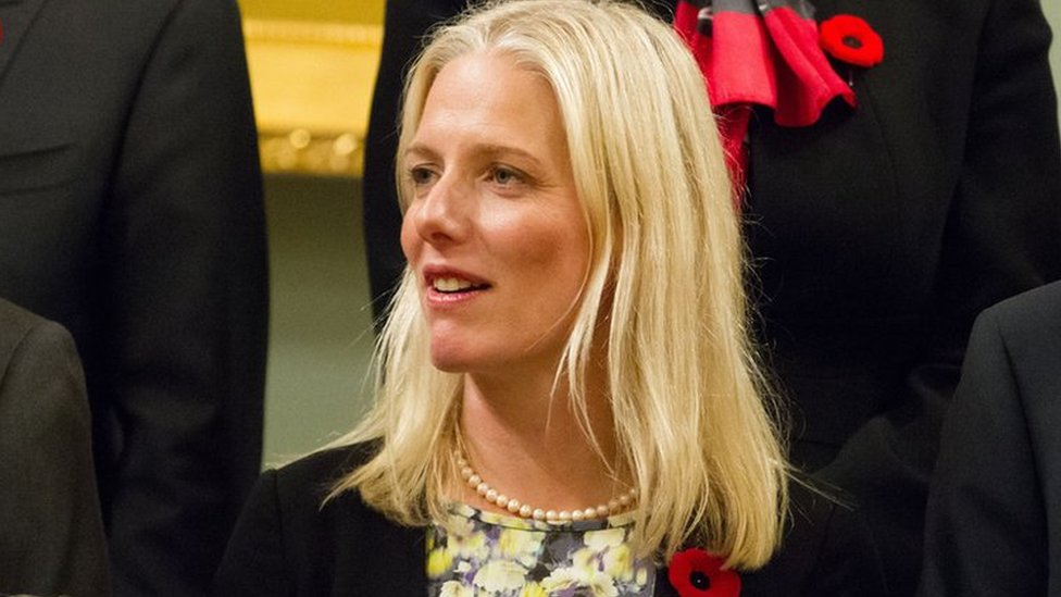 Canada's new environment minister Catherine McKenna poses for a photo with other cabinet members at Rideau Hall in Ottawa, Ontario, November 4, 2015.