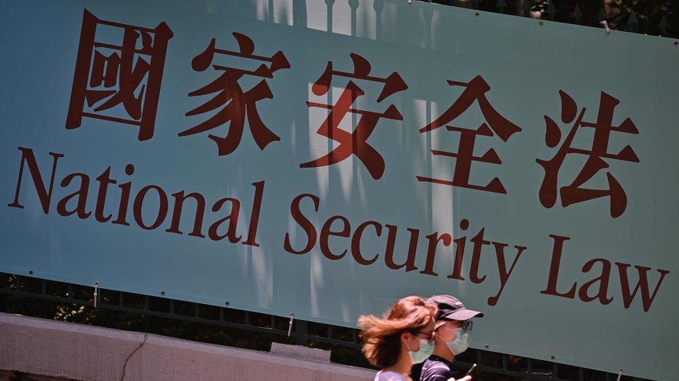 聯署信提名批評香港《國安法》對發表政治意見等基本權利造成寒蟬效應。