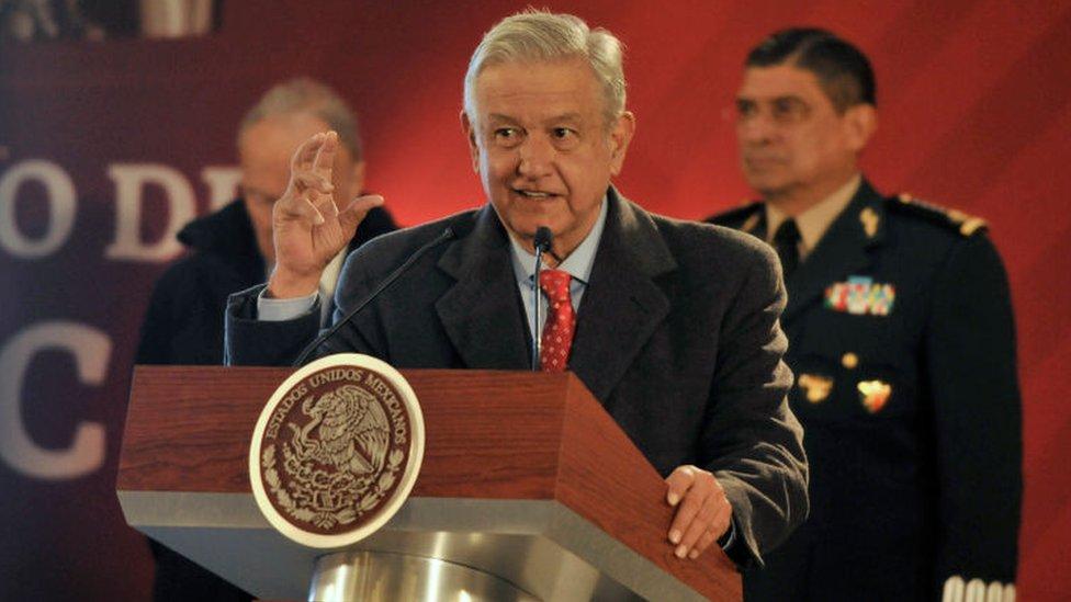 López Obrador dijo que los indicios apuntan a un enfrentamiento entre dos grupos.