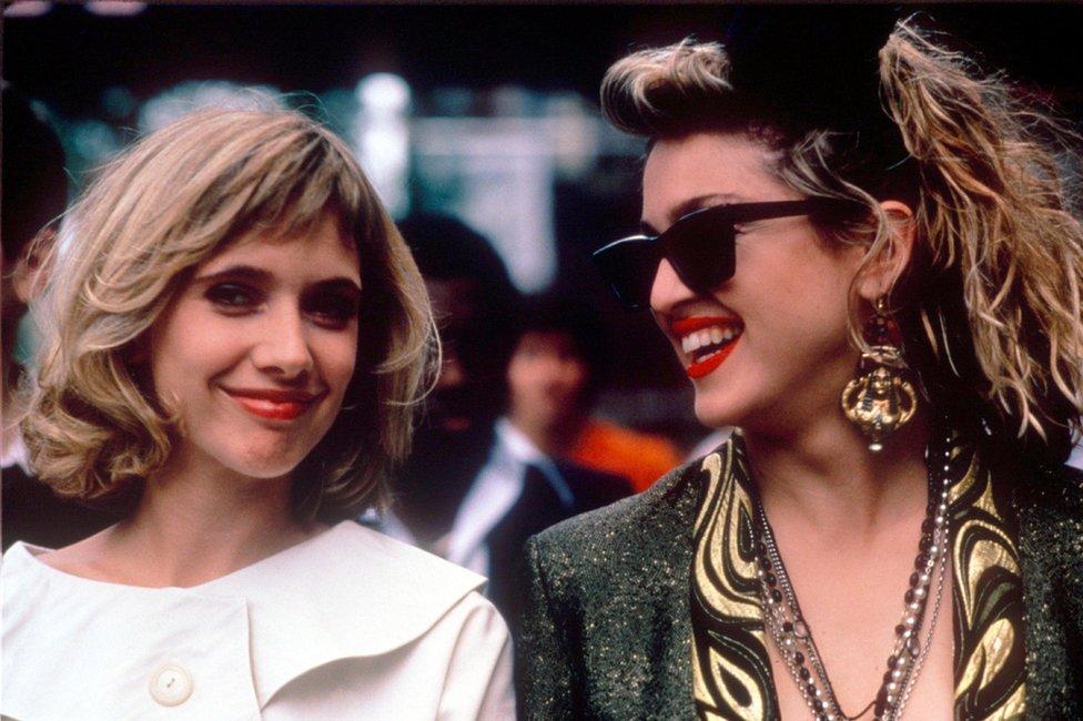 Rosanna Arquette and Madonna in Desperately Seeking Susan