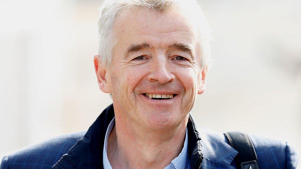 Michael O'Leary es el Consejero Delegado de la aerolínea irlandesa Ryanair.
