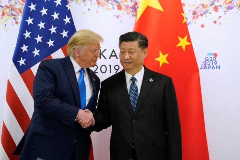 Trump ve Şi Jinping