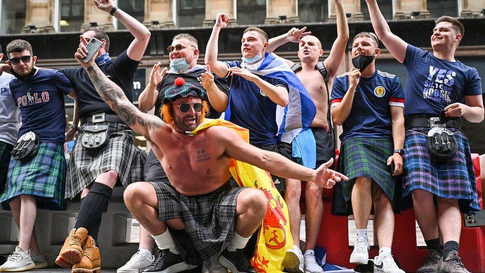 škotski navijači