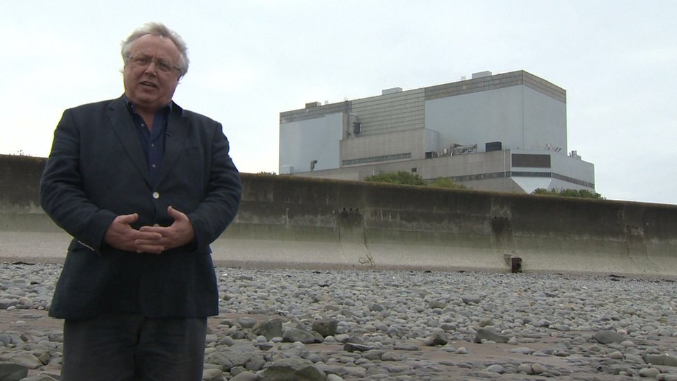 Tom Burke at Hinkley Point
