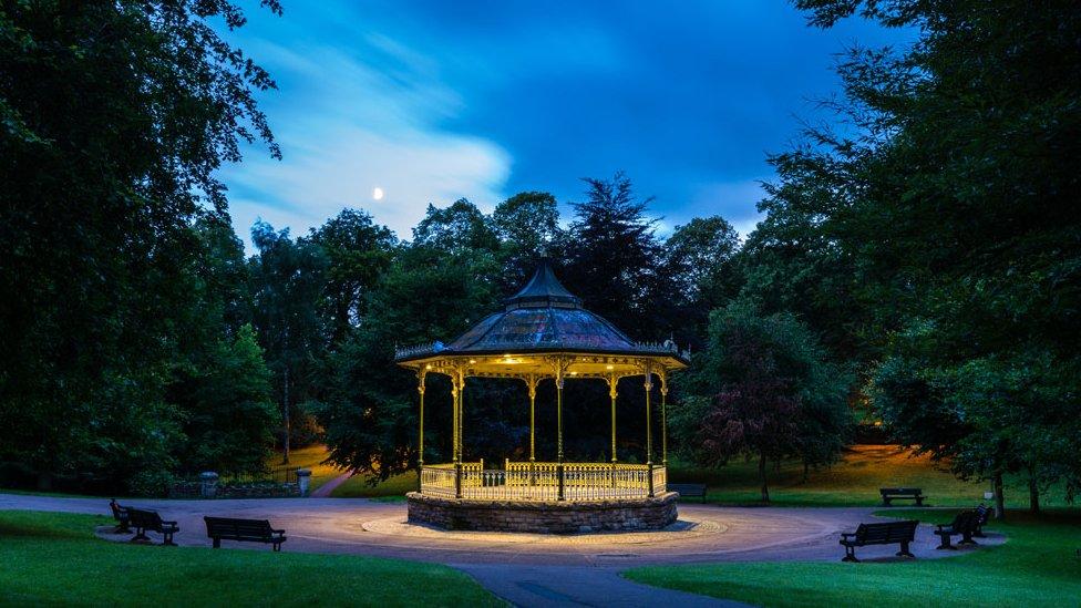 Hexham bandstand