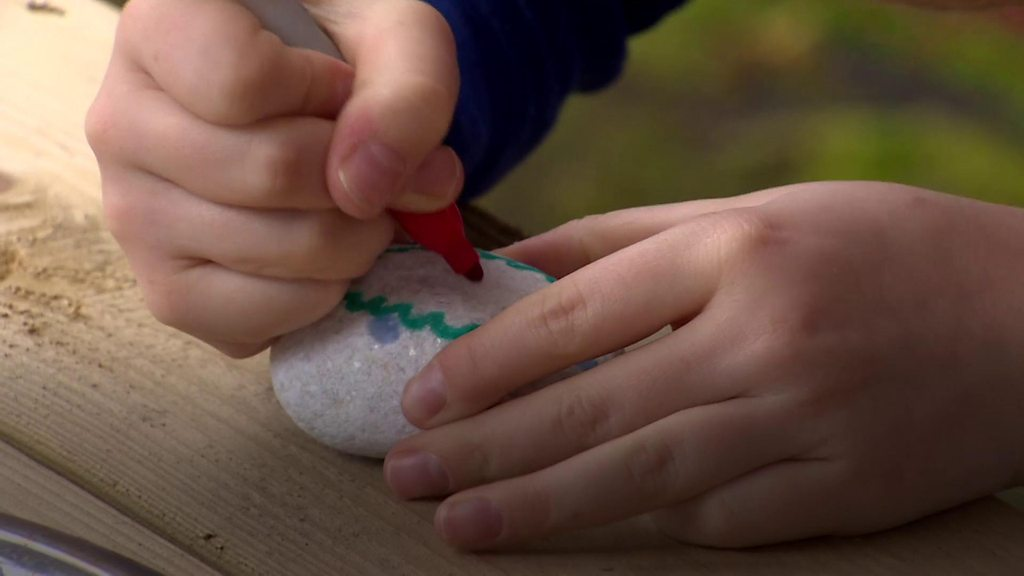 Painted stones from NI are make their way across the world