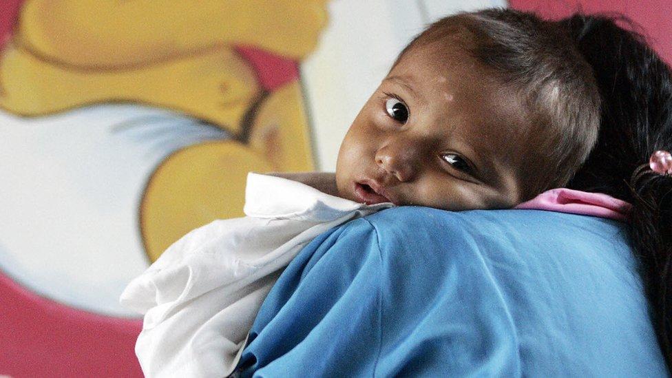 Niño en Guatemala