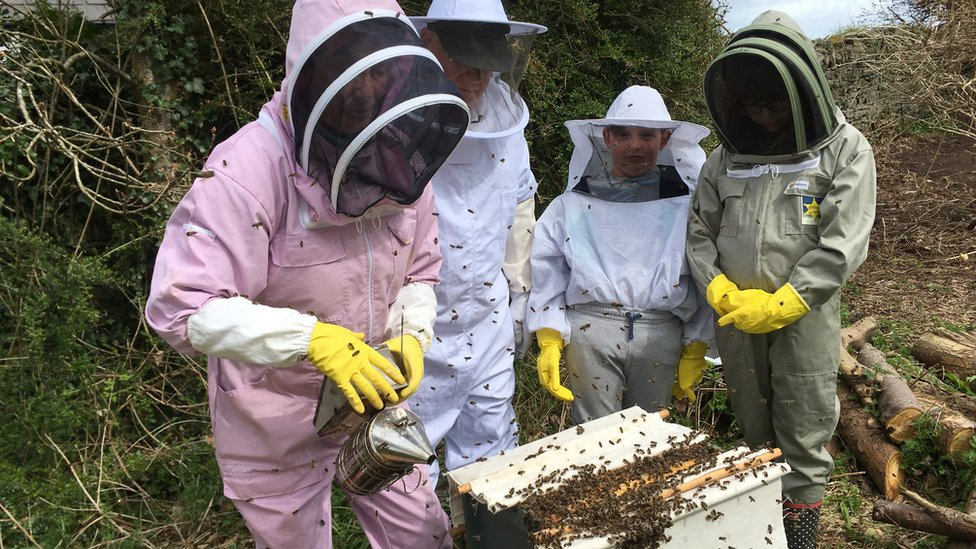 Isle of Man beekeepers