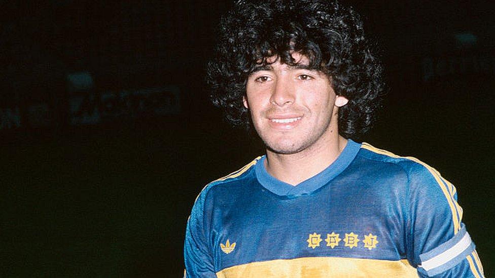 Maradona en 1981