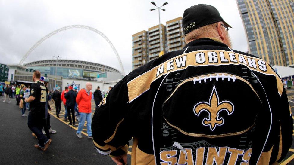 Desde 2007 se disputan partidos de la NFL en el mítico estadio de Wembley.