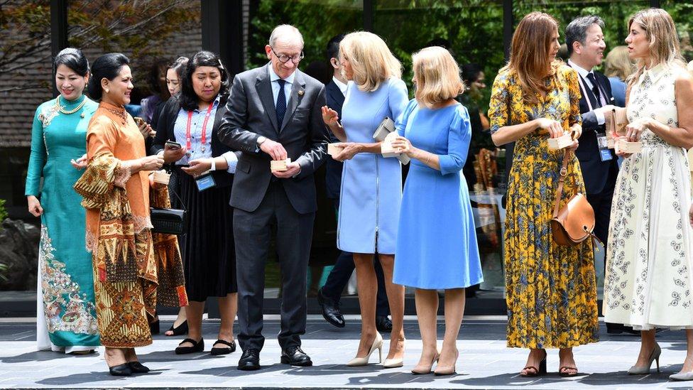 Filip Mej tokom samita G20