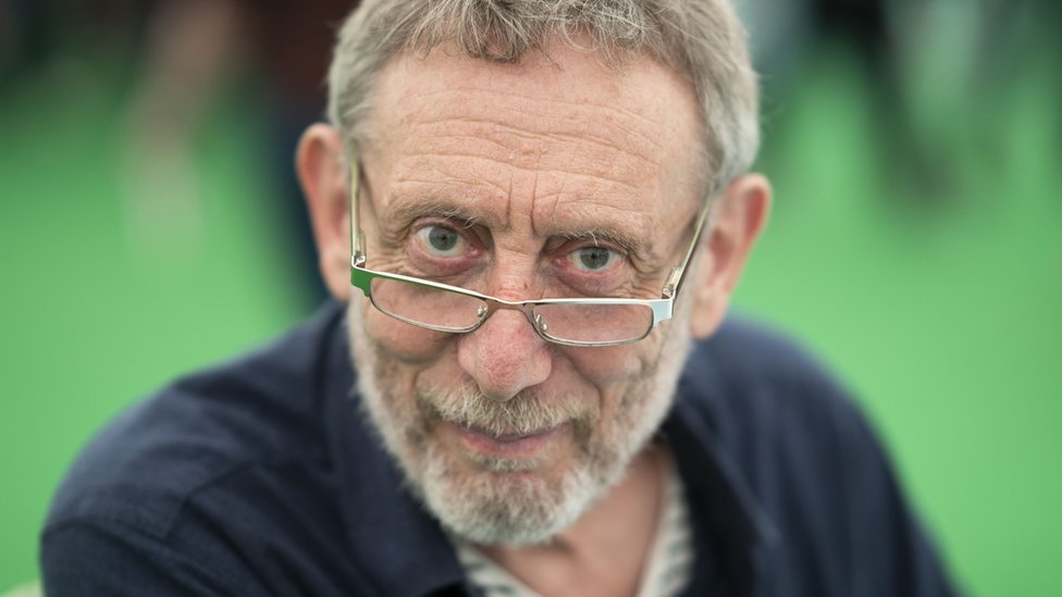 Children's author Michael Rosen