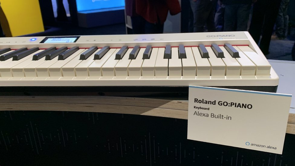 Roland Piano with Alexa built in
