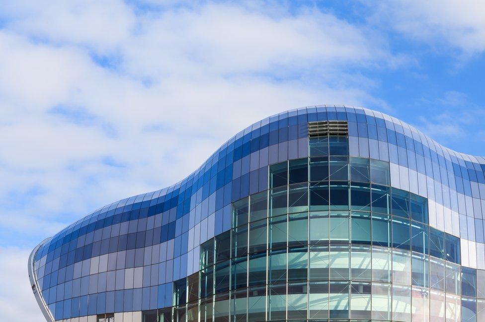 Sage Gateshead concert building