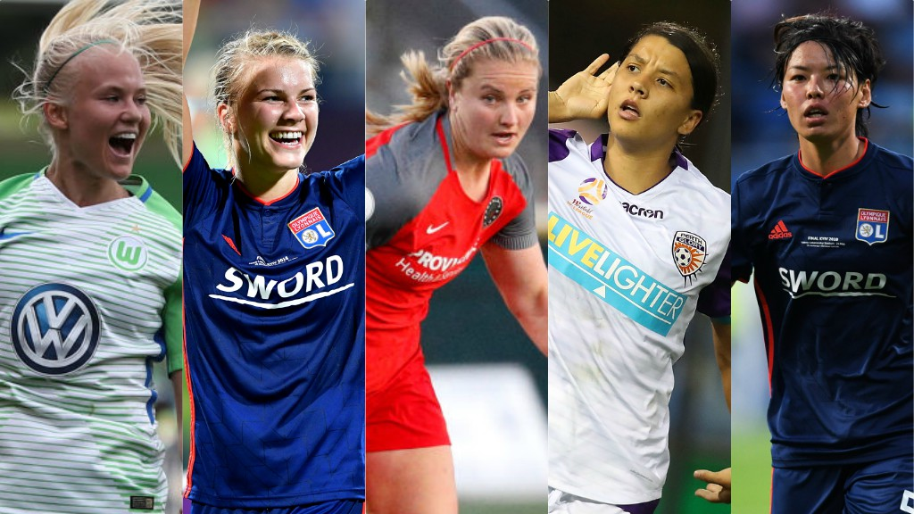 Meet BBC Women's Footballer of Year contenders - and vote for your winner
