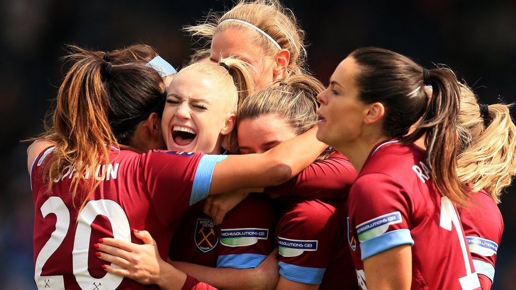 West Ham beat Reading to reach Women's FA Cup final